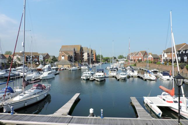 Thumbnail Terraced house to rent in Kingston Quay, Sovereign Harbour South, Eastbourne