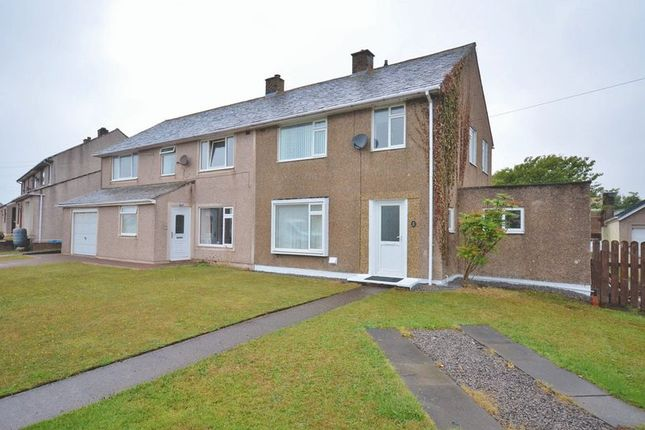 Thumbnail Semi-detached house for sale in Santon Way, Seascale