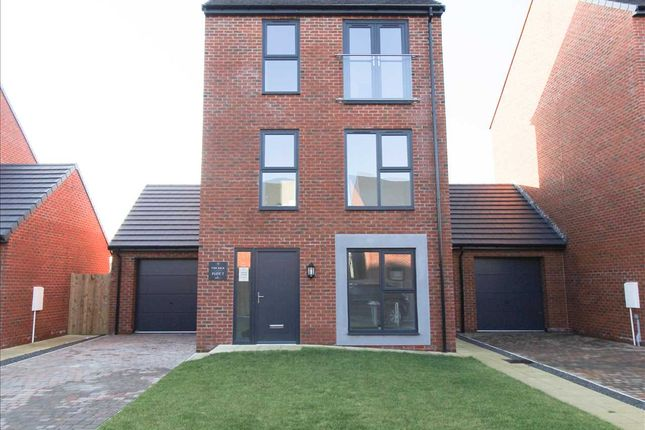 Thumbnail Detached house for sale in Plot 5, Meadow View, Blyth