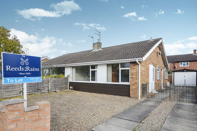 Thumbnail Bungalow to rent in Tedder Road, York