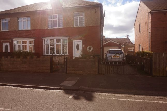 Thumbnail Semi-detached house for sale in Avondale Avenue, Forest Hall, Newcastle Upon Tyne