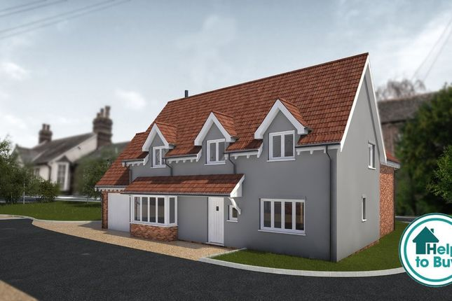 Thumbnail Detached house for sale in The Street, Sturmer, Haverhill