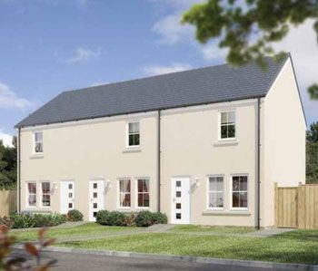 "Thumbnail Terraced house for sale in ""The Portsoy"" at Stable Gardens, Galashiels"
