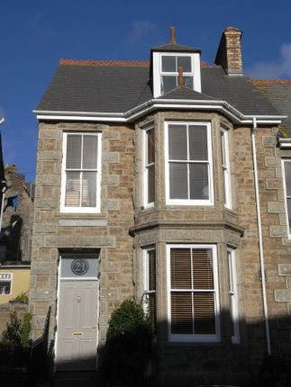 Thumbnail End terrace house to rent in Lannoweth Road, Penzance