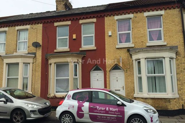 Thumbnail Shared accommodation to rent in Toft Street, Liverpool