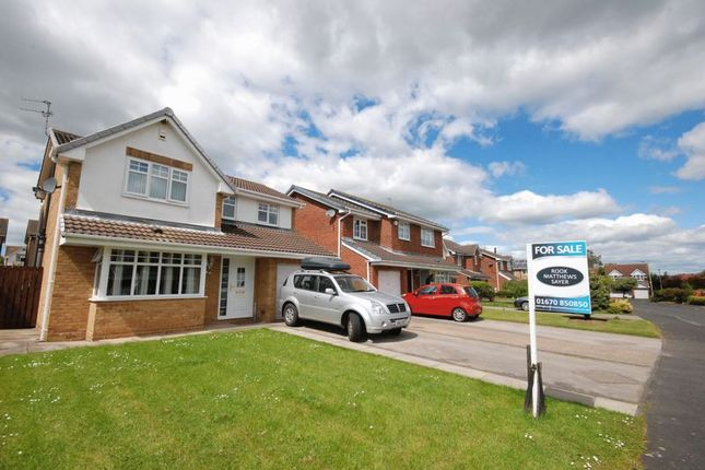 Thumbnail Detached house for sale in Allchurch Drive, Ashington