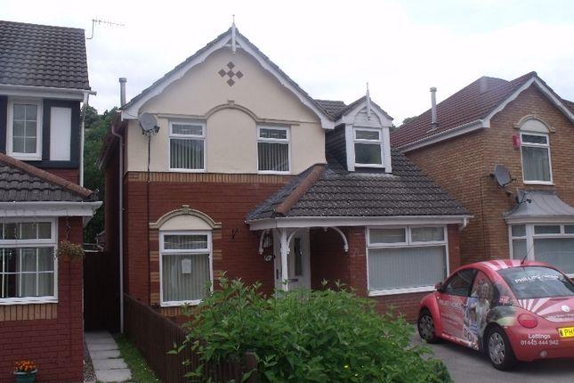 Thumbnail Detached house to rent in Parc Afon, Tonypandy, Rhondda Cynon Taff.
