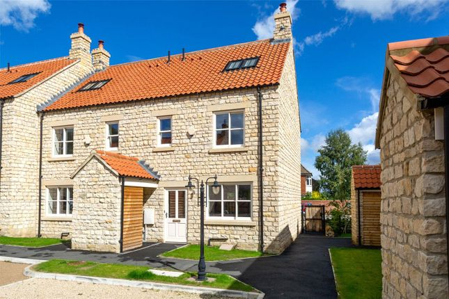 Thumbnail End terrace house for sale in Black Swan Yard, Helmsley, York, North Yorkshire