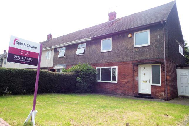 Thumbnail Semi-detached house for sale in Swindon Square, Springwell, Sunderland