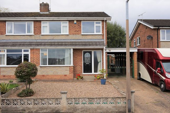 Thumbnail Semi-detached house for sale in Scholey Avenue, Woodsetts