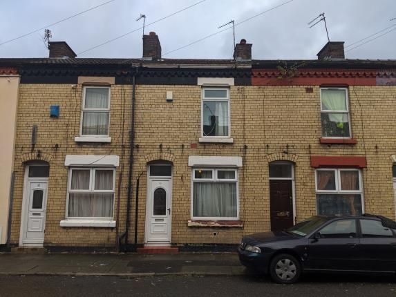 Front of Whittier Street, Toxteth, Liverpool, Merseyside L8