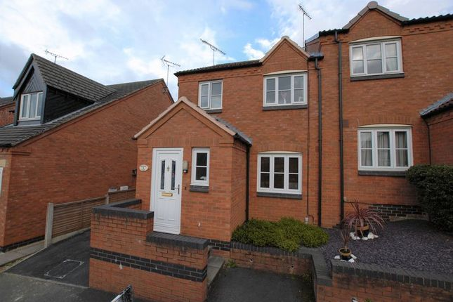 Thumbnail Semi-detached house for sale in Dunnock Close, Uttoxeter