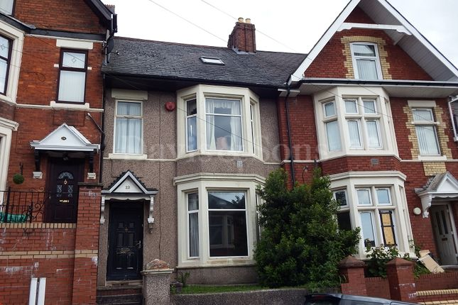 Thumbnail Terraced house for sale in St. Johns Road, Off Chepstow Road, Newport.