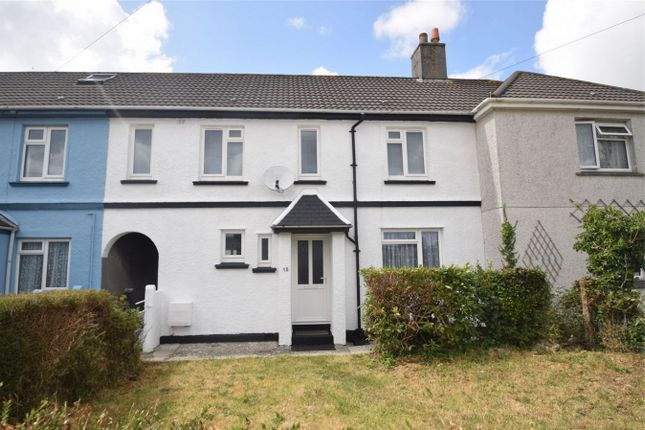Thumbnail Terraced house to rent in Trevaylor Road, Falmouth, Cornwall