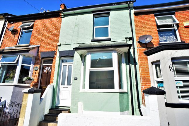 Thumbnail Terraced house to rent in Bright Road, Chatham