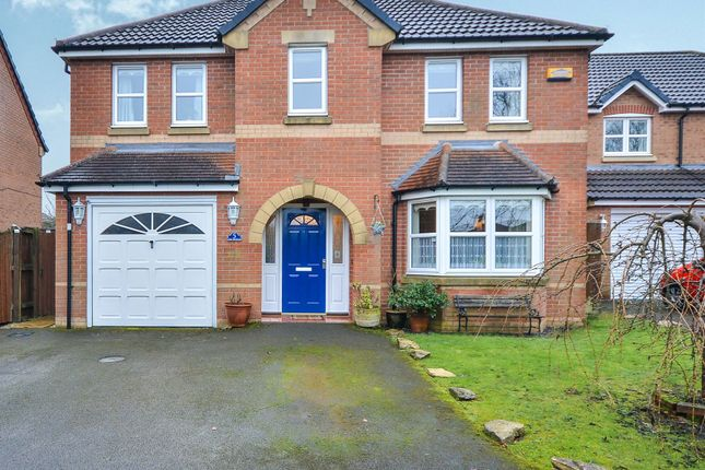 Thumbnail Detached house for sale in The Steeples, Annesley Woodhouse, Nottingham