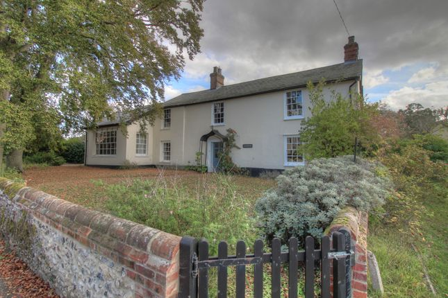 Thumbnail Detached house for sale in The Street, Garboldisham, Diss