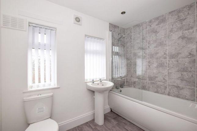 Bathroom of Burns Close, Great Sutton CH66