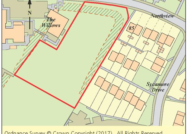 Thumbnail Land for sale in Land Adj. 85 Northview, Swanley, Kent