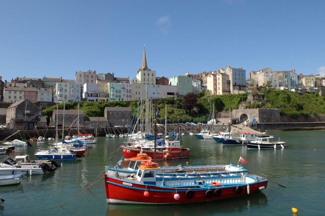 Thumbnail Town house for sale in Harbour Heights, Crackwell Street, Tenby