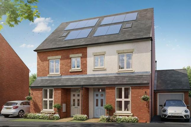 "Thumbnail Semi-detached house for sale in ""Gibson"" at Whitworth Park Drive, Houghton Le Spring"