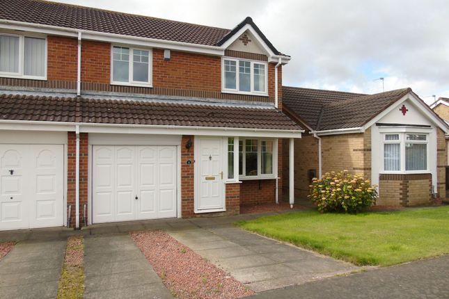 Thumbnail Semi-detached house for sale in Greenfield Drive, Choppington