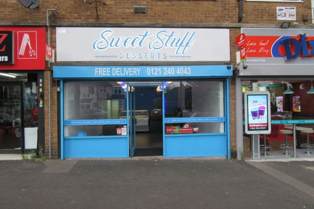Thumbnail Restaurant/cafe for sale in Kingsbury Road, Erdington