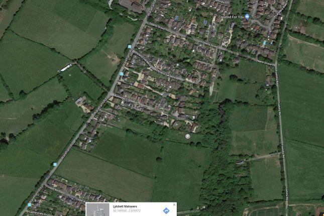 Thumbnail Land for sale in Burbridge Close, Lytchett Matravers