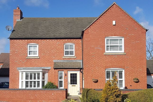 Thumbnail Detached house for sale in 3, Alesmore Meadow, Lichfield, Staffordshire