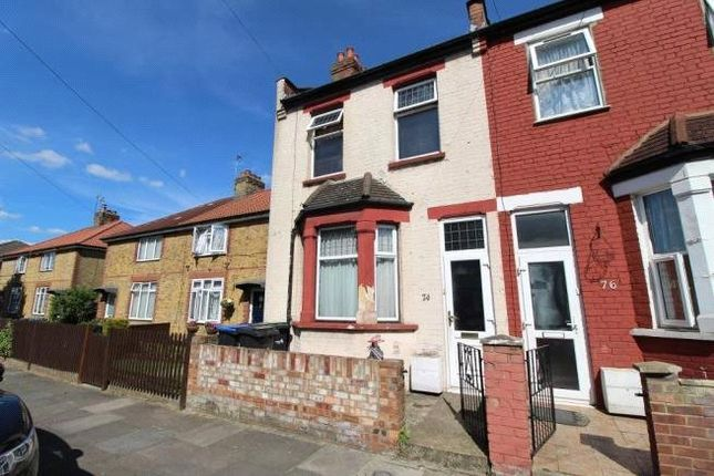 Thumbnail End terrace house for sale in Woolmer Road, Edmonton, London