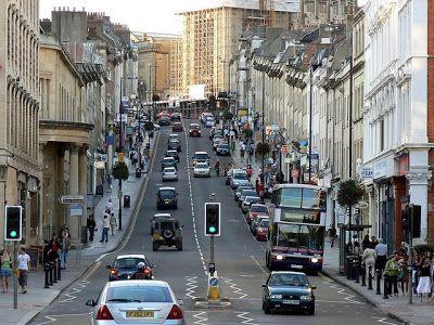 Thumbnail Flat to rent in Park Street, Bristol