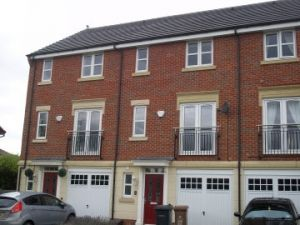 Thumbnail 3 bed mews house to rent in Angelica Close, Derby