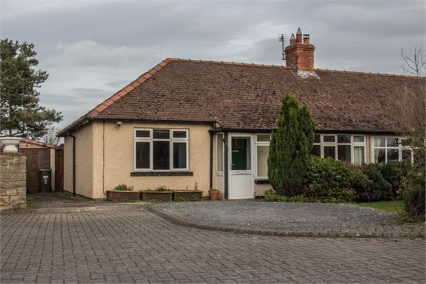 Thumbnail Semi-detached bungalow to rent in Mill Bungalows, Catterick Village, North Yorkshire.