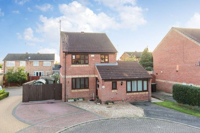 Thumbnail Detached house for sale in Bugby Way, Raunds, Wellingborough
