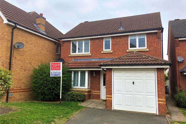 Thumbnail Detached house to rent in Riber Close, Grantham