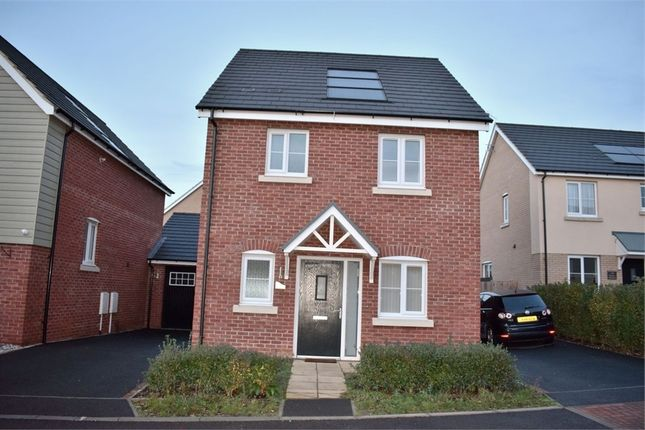 Thumbnail Detached house to rent in Holmes Meadow, Redhouse Park, Milton Keynes, Buckinghamshire