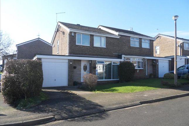 Thumbnail Semi-detached house for sale in Wansbeck Close, Ellington, Morpeth
