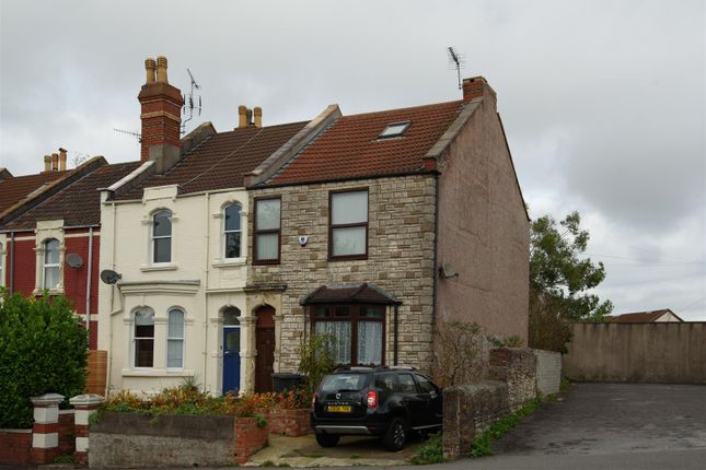 Thumbnail End terrace house for sale in Dragons Well Road, Bristol
