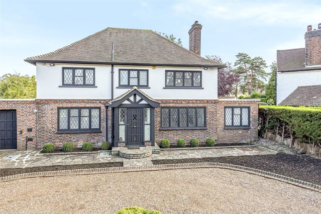 Thumbnail 4 bed detached house for sale in Meadow Way, Farnborough Park
