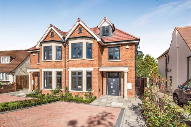 Thumbnail Semi-detached house for sale in Grimsdyke Crescent, Arkley, Herts