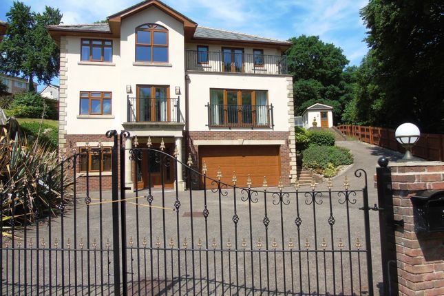 Thumbnail Detached house for sale in Brecon Walk, Treharris