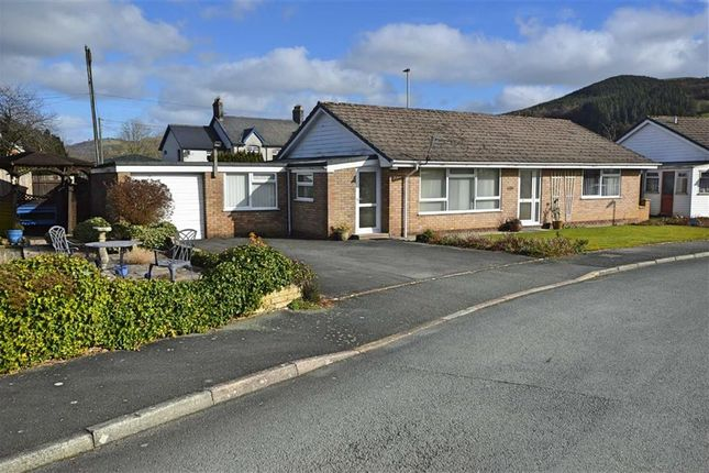Thumbnail Bungalow for sale in 1, Gerddi Cledan, Building Plot & Garage, Carno, Caersws, Powys