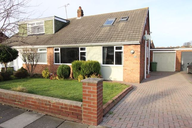 Thumbnail Semi-detached bungalow for sale in Beaumaris Gardens, East Herrington, Sunderland