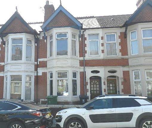 Thumbnail Terraced house for sale in Lisvane Street, Cardiff