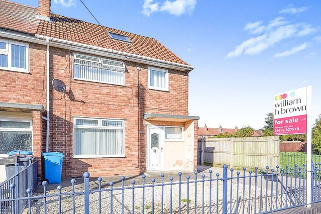 3 bed end terrace house for sale in Glaisdale Grove, Hull HU9