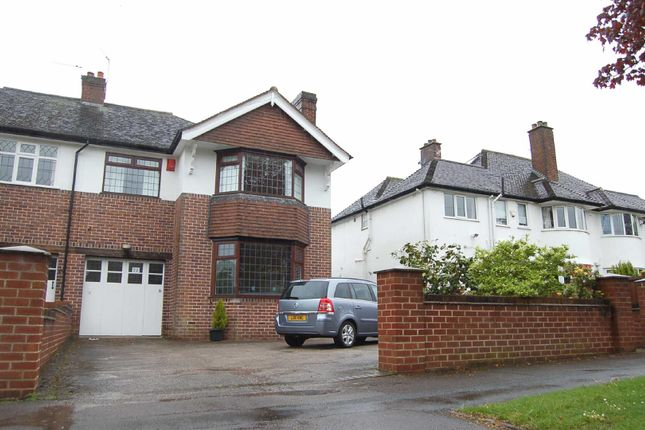 Thumbnail Semi-detached house to rent in Dartmouth Avenue, Westlands, Newcastle