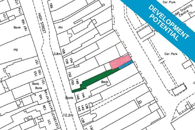 Thumbnail Land for sale in 148, High Street, Irvine, Ayrshire KA128Ah