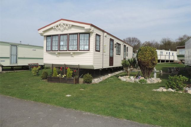 Thumbnail Mobile/park home for sale in Sovereign View Caravan Park, Bexhill On Sea, East Sussex