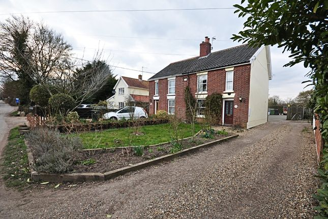 Thumbnail Semi-detached house for sale in High Road, Bressingham, Diss