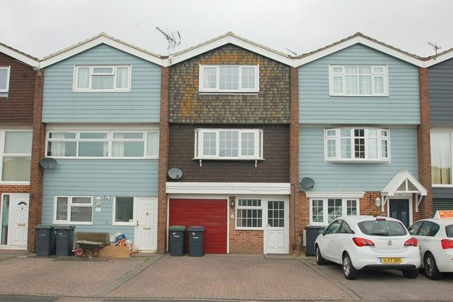Thumbnail Town house for sale in Gale Moor Avenue, Alverstoke, Gosport
